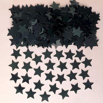 Imagen de Confeti estrellas negro (14g)