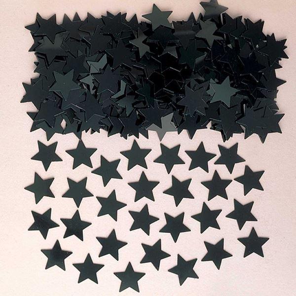 Imagens de Confeti estrellas negro (14g)