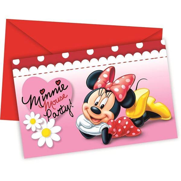 Imagen de Invitaciones Minnie Mouse (6)