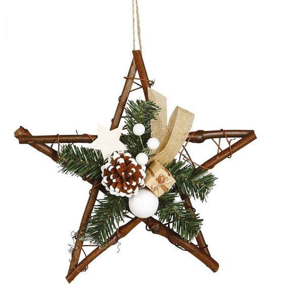 Imagens de Decorado Estrella navideña 30cm