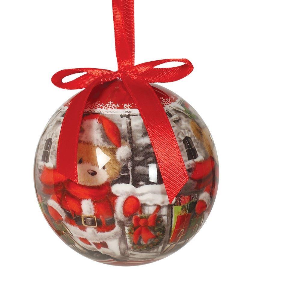 7db082e302c Adorno bolas navideñas osito 7.5cm (6)✅ por sólo 8