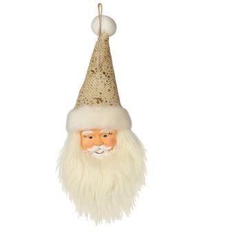 Imagens de Adorno árbol Cara Papa Noel Navidad