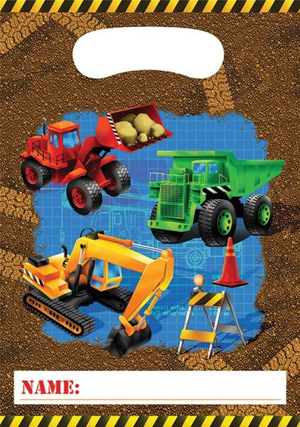 Imagen de Bolsas de chuches fiesta de construcción (8)