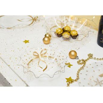 Imagens de Bol pañuelo Navideño estrellas (16cm)