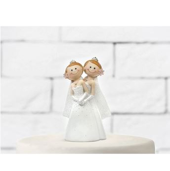 Picture of Figura tarta Mrs & Mrs