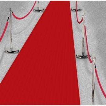 Imagens de Alfombra roja de pasillo grande (15m)
