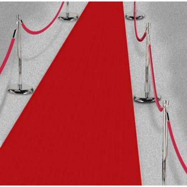 Imagen de Alfombra roja de pasillo grande (15m)