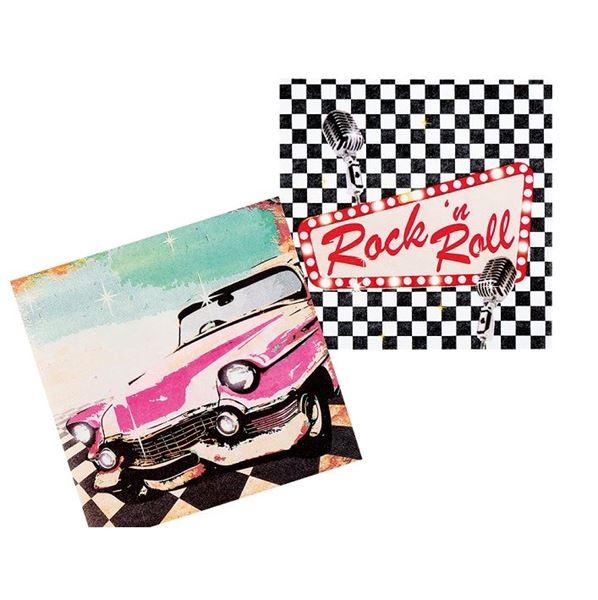 Imagens de Servilletas Rock and roll (12)