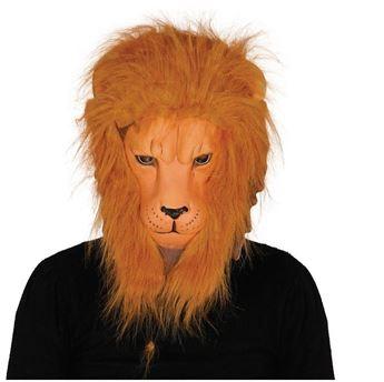 Imagen de Máscara León con pelo