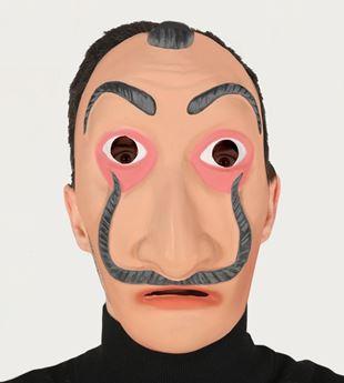 """Imagen de Máscara Dalí """"La casa de papel"""""""