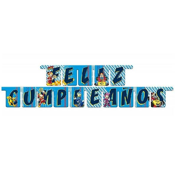 Picture of Guirnalda letras Mickey y los Super Pilotos
