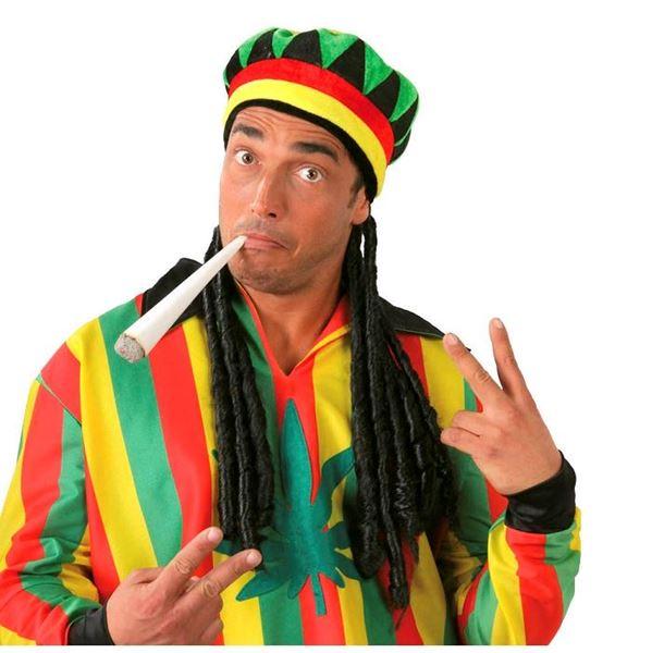 Imagen de Gorra Jamaicana con trenzas