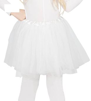 Picture of Tutu infantil color blanco