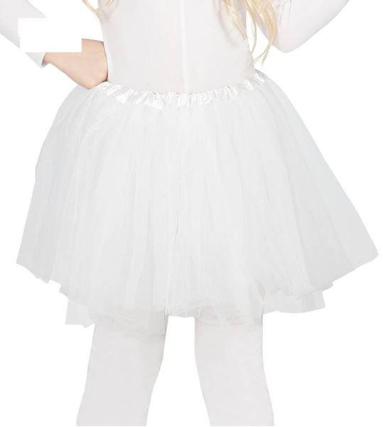 Imagens de Tutu infantil color blanco