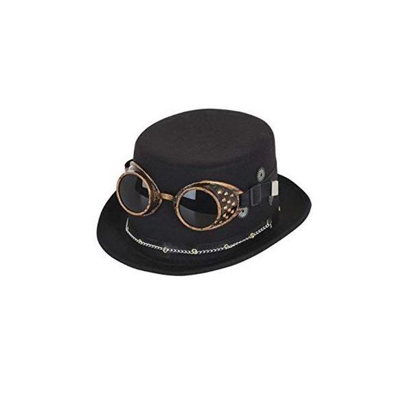 Imagens de Sombrero steampunk con gafas