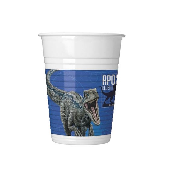 Picture of Vasos Dinosaurios Jurassic World 2 azul (8)