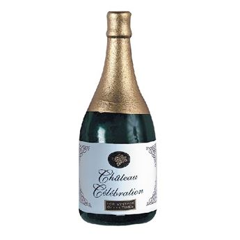 Picture of Peso globos Botella Champán