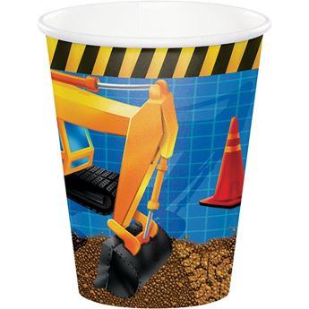 Imagen de Vasos fiesta de construcción (8)