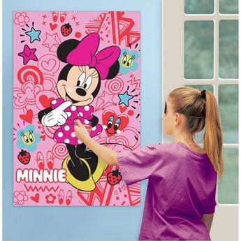 Picture of Juego de pared Minnie Mouse