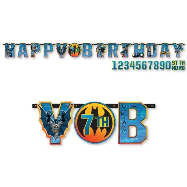 Imagens de Guirnalda Happy Birthday Batman Grande