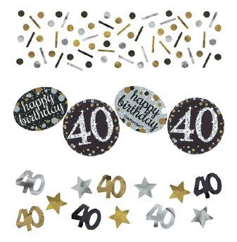 Picture of Confeti 40 años elegante (34gr)
