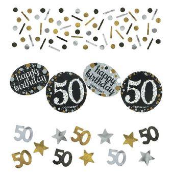 Imagens de Confeti 50 años elegante (34gr)