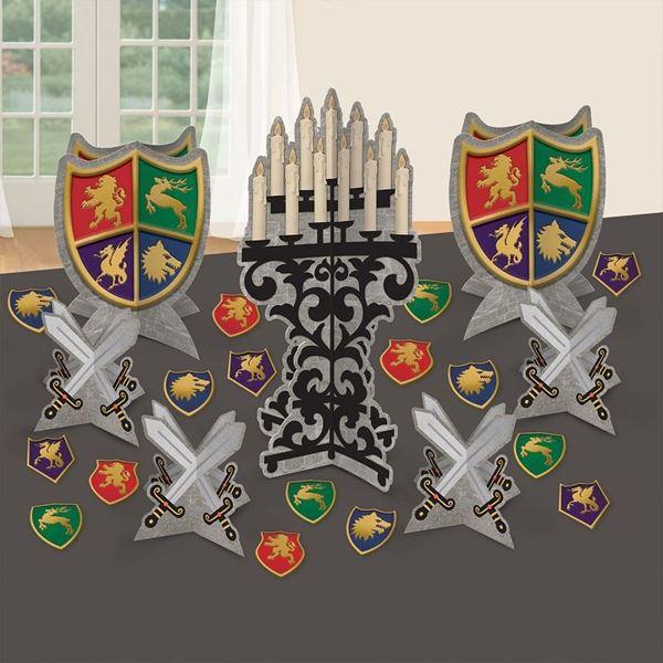 Imagen de Kit de decoración mesa medieval