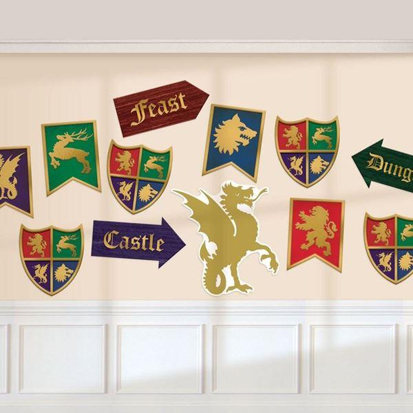 Imagens de Recortables decoración medieval