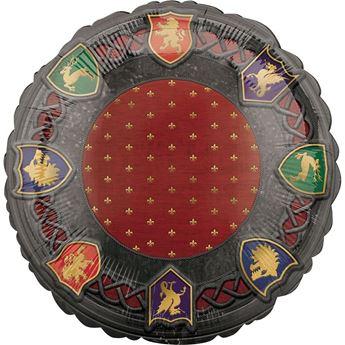 Imagen de Globo medieval Juego de Tronos círculo  45cm