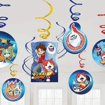 Picture of Decorados espirales Yo-Kai Watch (12)