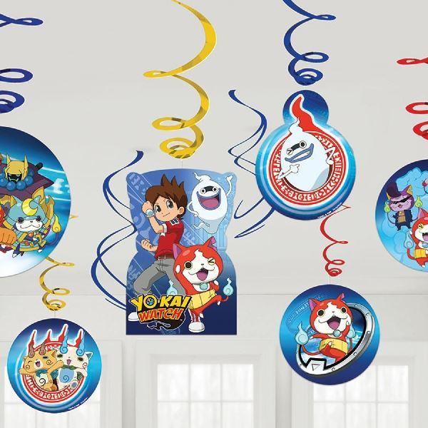 Picture of Decorados espirales Yo-Kai Watch (12)
