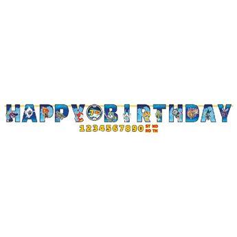 Imagen de Guirnalda Happy Birthday Yo-Kai Watch