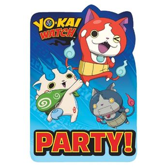 Imagen de Invitaciones Yo-Kai Watch (8)