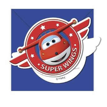 Picture of Invitaciones Super Wings (6)