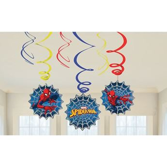 Picture of Decorados espirales Spiderman (6)