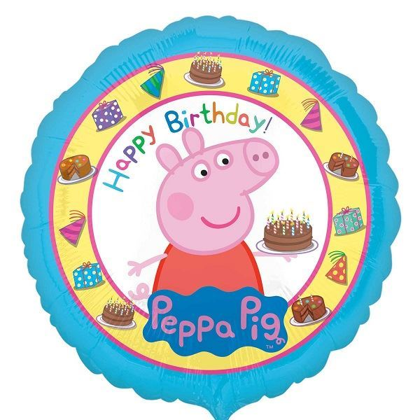 Picture of Globo Peppa Pig Happy Bday