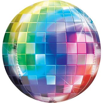 Picture of Globo esférico bola disco (40cm)