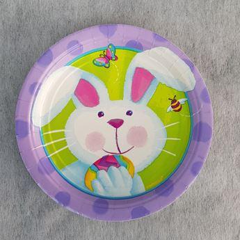 Imagens de Platos Conejo de Pascua pequeños (8)