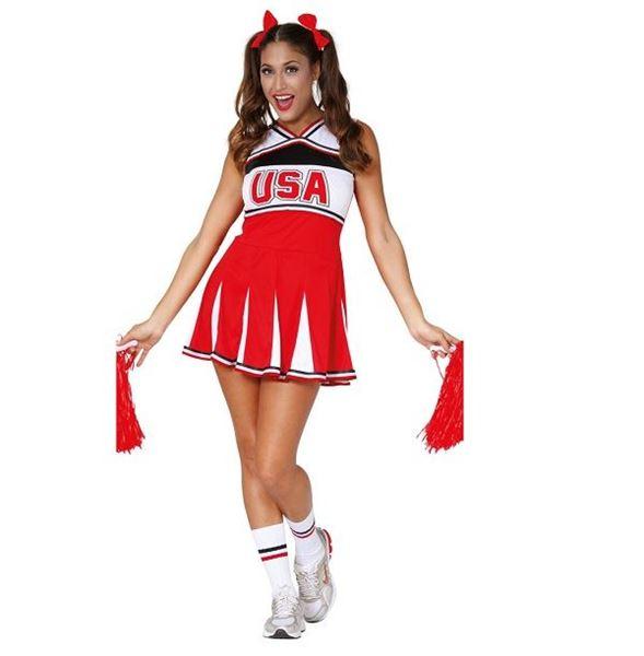 Imagen de Disfraz Cheerleader animadora (Talla 36-38)
