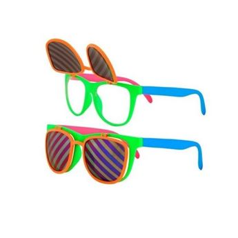 Picture of Gafas multicolor abatibles