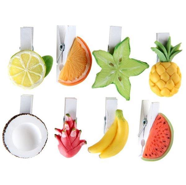 Imagen de Pinzas marcasitios Frutas (8)