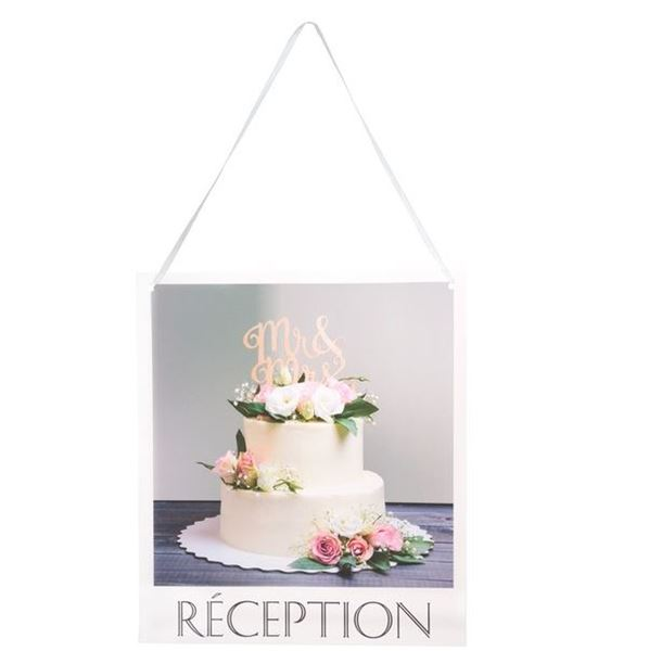 Imagen de Cartel boda Recepción (1)