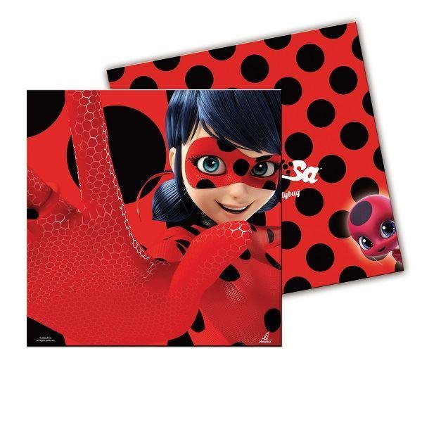 Picture of Servilletas Ladybug (20)