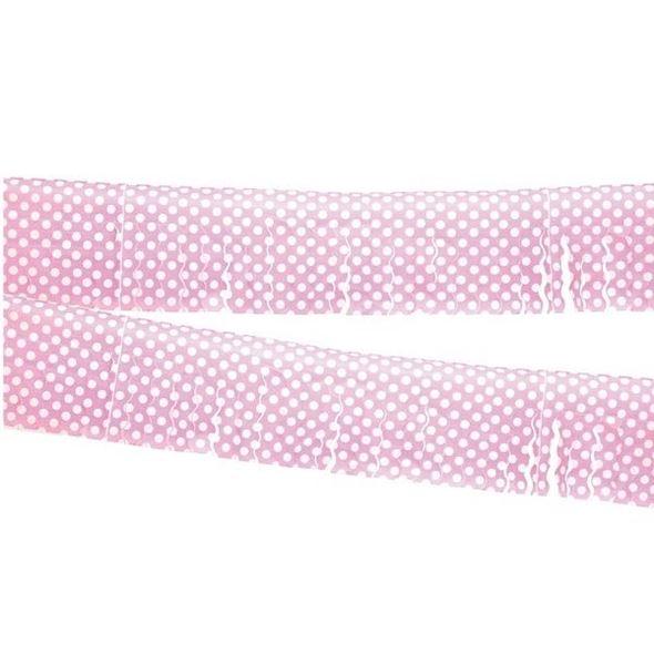 Imagens de Guirnalda flecos rosa lunares (10m)