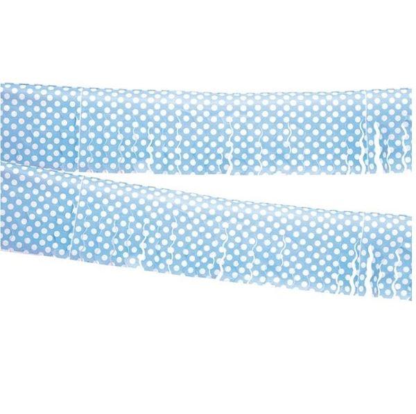Imagens de Guirnalda flecos azul lunares (10m)