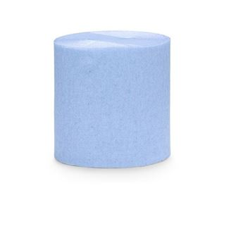 Imagen de Guirnalda Azul pastel crepé 10m (4)