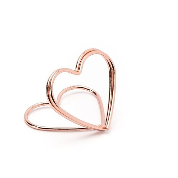 Imagen de Marcasitios Corazón rosa dorado (10)