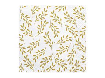 Imagens de Servilletas hojas doradas (20)