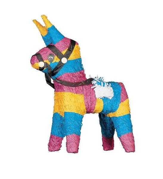 Imagen de Piñata Burro Mexicano golpear