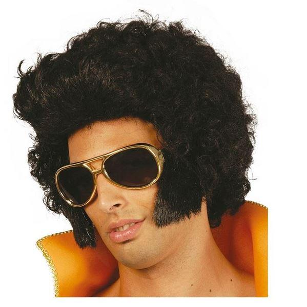 Imagens de Peluca Rey del rock Elvis